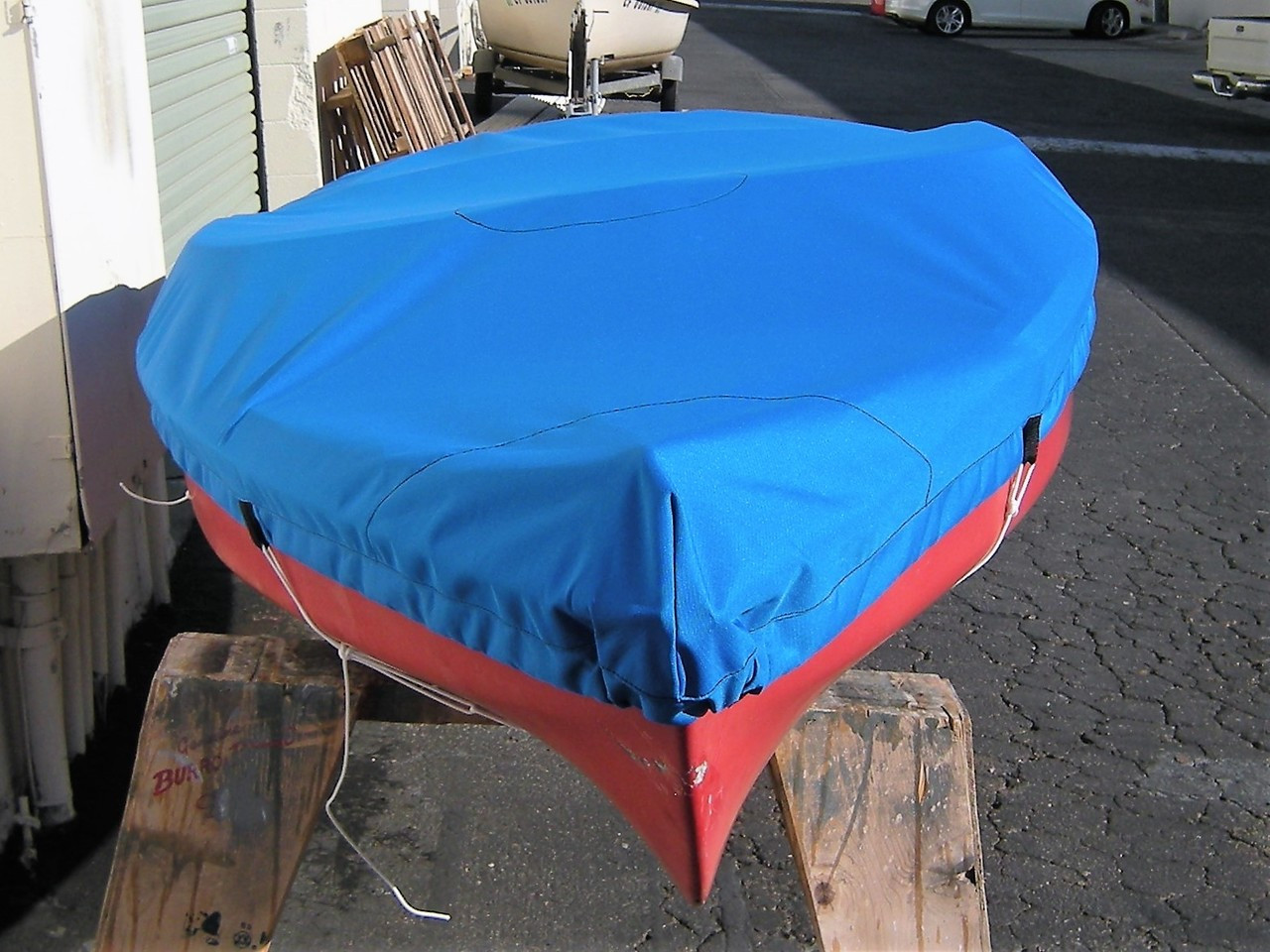 SeaGull Sailboat Top Cover made in America by skilled artisans at SLO Sail and Canvas.