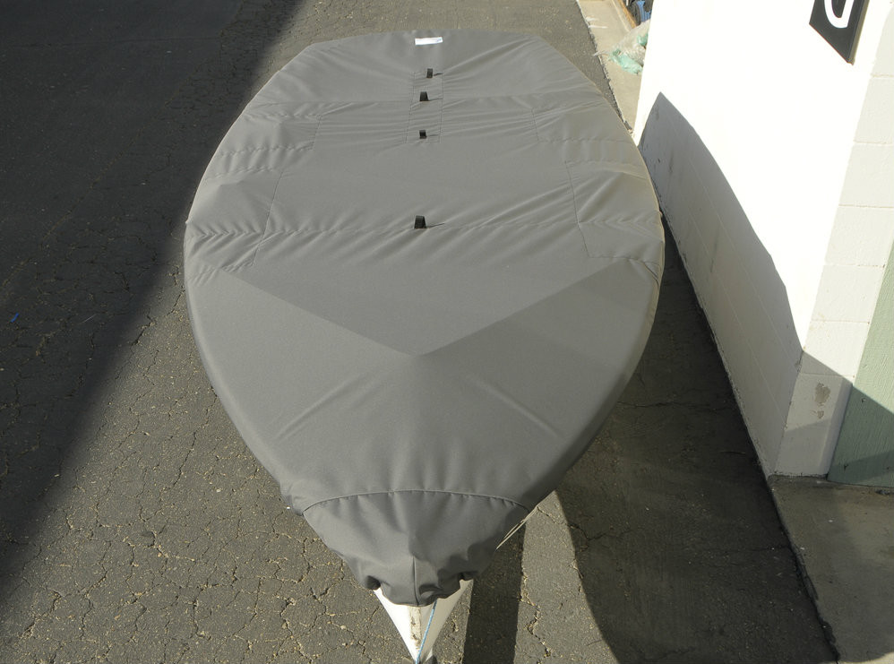 420 Sailboat Top Cover by SLO Sail and Canvas.