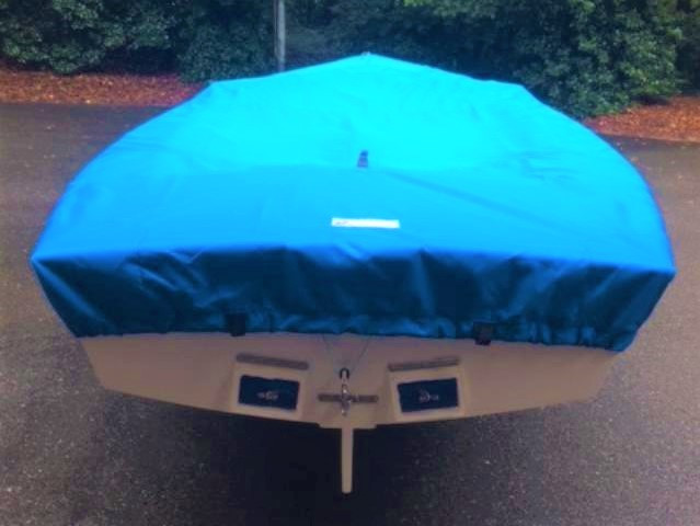 Lightning Sailboat Top Deck Cover by SLO Sail and Canvas