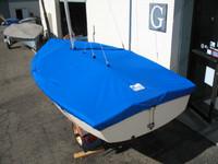 Vagabond 14 Sailboat Mooring Cover - Mast Up Flat Cover