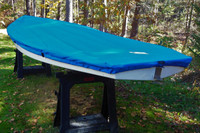 Pointer 14 Sailboat Top Cover made in America by skilled artisans at SLO Sail and Canvas.