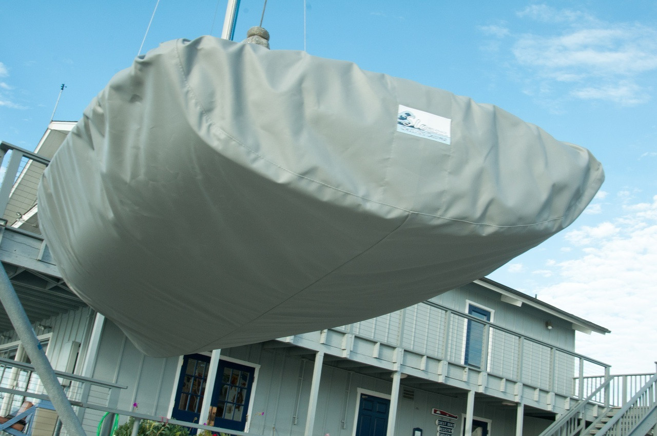 Byte Hull Cover by SLO Sail and Canvas