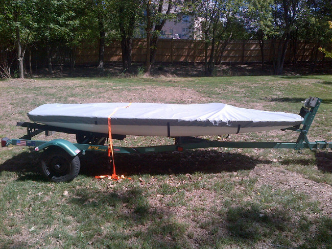 Butterfly Sailboat Top Deck Cover by SLO Sail and Canvas