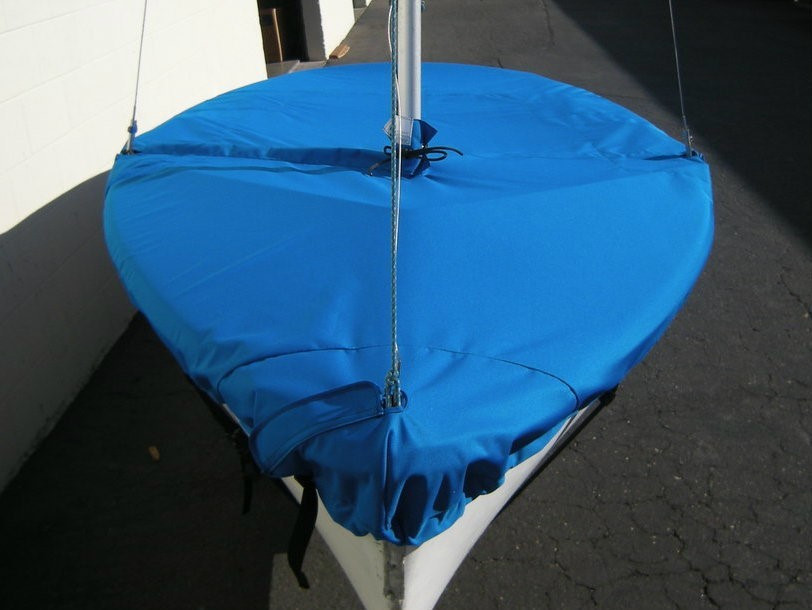Buccaneer Mast Up Flat Mooring Cover by SLO Sail and Canvas
