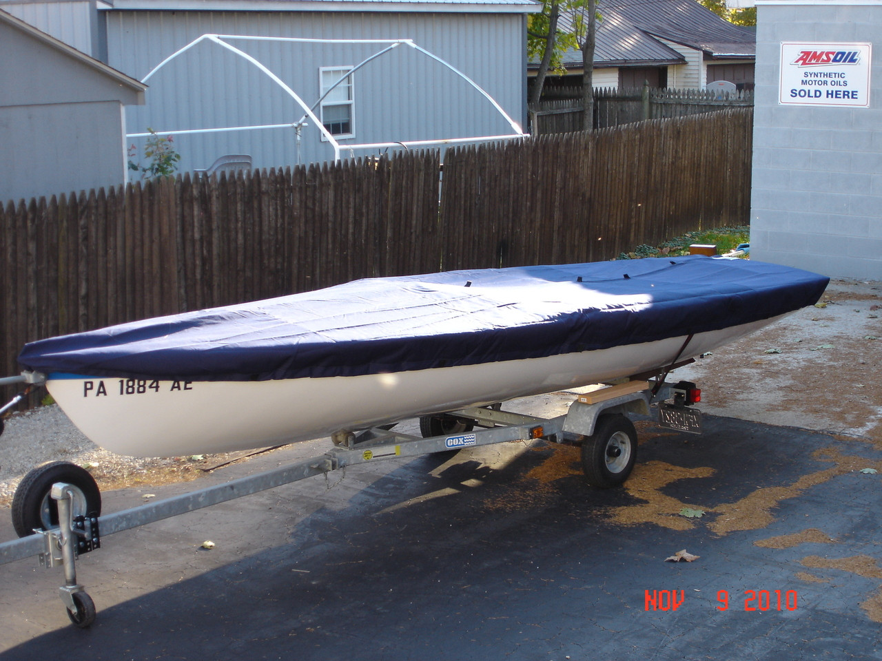Buccaneer sailboat Top Cover by SLO Sail and Canvas