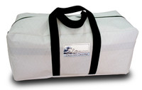 Sailcloth White Duffel Bag Medium