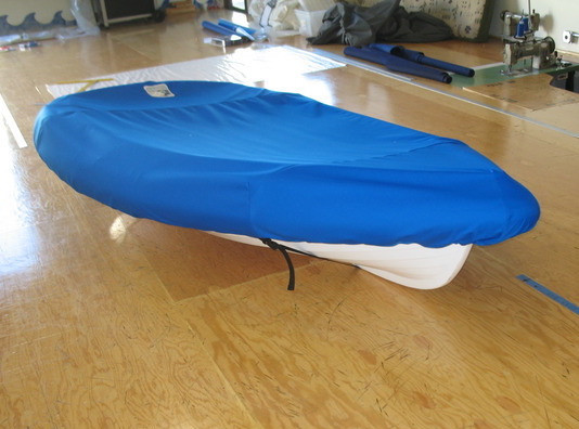 Walker Bay 8 RID 275 Sailboat Top Cover made in America by skilled artisans at SLO Sail and Canvas.
