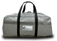 Sailcloth Duffel Bag Gun Metal Gray LARGE