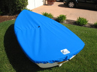 Walker Bay 8 Sailboat Top Cover made in America by skilled artisans at SLO Sail and Canvas.