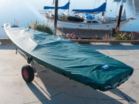 Laser Pro Top Deck Cover by SLO Sail and Canvas