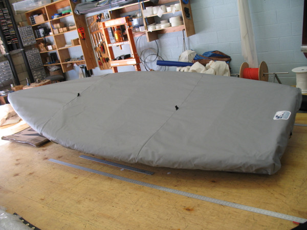 Tasar Sailboat Deck Cover made in America by skilled artisans at SLO Sail and Canvas.