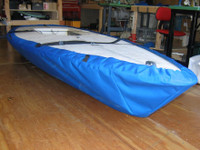 Laser II Sailboat Hull Cover by SLO Sail and Canvas