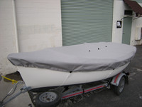 Bauer 12  Sailboat Top Cover- Deck Cover