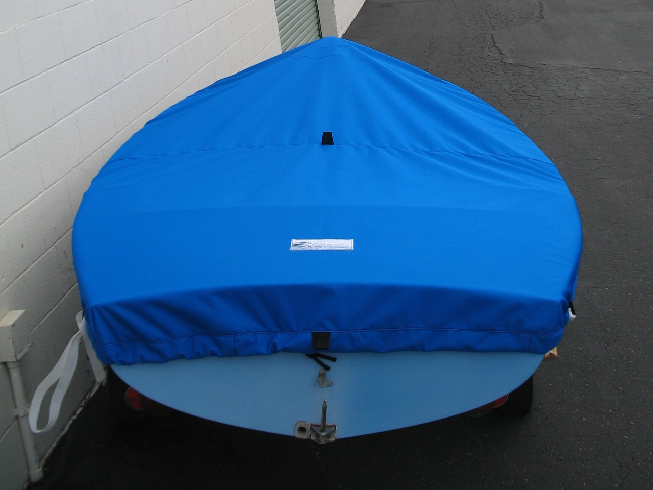 Finn sailboat Top Deck Cover made in America by skilled artisans at SLO Sail and Canvas.