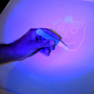 Drawing a picture with a Invisible Ink Marker