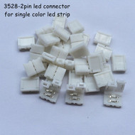 2 Pin Connectors For Single Colour LED Light Strips
