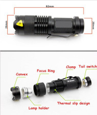 365nm mini UV Torch