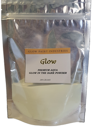 Premium Aqua Glow in the Dark pigment Powder