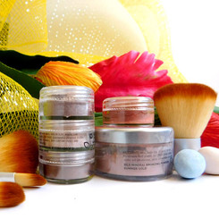 SUMMER GLOW- MINERAL makeup TRAVEL KIT
