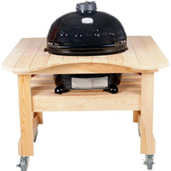 Primo Grill Oval JR 200 with Cypress Table
