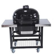 Primo Grill Oval JR 200 with Cart Stainless Steel Top