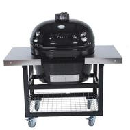 Primo Grill Oval XL 400 with Cart Stainless Steel Top