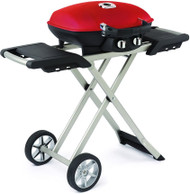 Napoleon Grill Travel Q with Scissor Cart Red