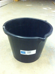 14Ltr Black Mixing Bucket