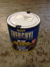 Everbuild Evercryl One Coat Instant Waterproofing For Roofs, Gutters and Gulleys, Grey, 1 kg