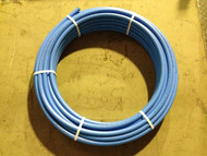 MDPE Blue Water Pipe - 25mm x 100Mtrs