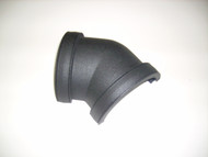 Half Round 135deg Gutter Bend - Cast Iron Effect