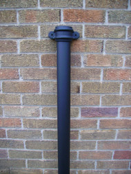2.5Mtr Downpipe w/ Lugs - Cast Iron Effect