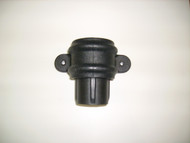 Pipe Coupler w/ Lugs - Cast Iron Effect
