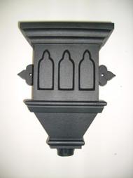 Gothic Hopper - Cast Iron Effect