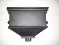 Small Undated Hopper - Cast Iron Effect