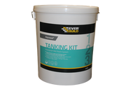 Everbuild Aquaseal Tanking Kit Waterproof Wet Room System, Large (Primer 1 Litre, Membrane 5 Litre, Tape 10 m)