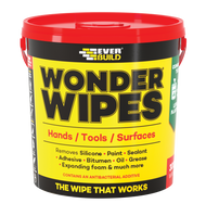 Everbuild Wonder Wipes Multi-Use Cleaning Wipes, Monster 500 Wipes