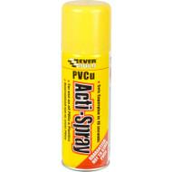 Everbuild PVCu Acti-Spray Aerosol Activator (use to rapidly set superglue), Clear, 200 ml