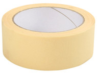 Everbuild Mammoth General Purpose Trade Quality Masking Tape, Off White, 50mm x 50m