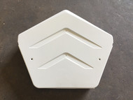 Angled Ridge Cap - White