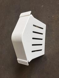 Dry Verge Starter Block - White
