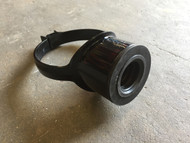 110mm Soil Pipe 40mm Boss Clip - Black
