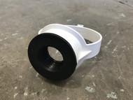 110mm Soil Pipe 32mm Boss Clip - White