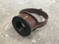 110mm Soil Pipe 32mm Boss Clip - Brown