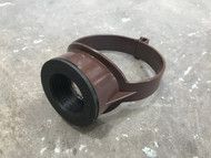110mm Soil Pipe 40mm Boss Clip - Brown