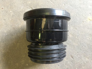 110mm Soil Pipe Clay to Plastic - Black