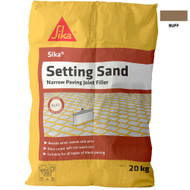 Sika Setting Sand Narrow Paving Joint Filler, Buff, 20 kg