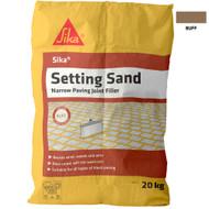 Sika Setting Sand Narrow Paving Joint Filler, Buff, 20 kg