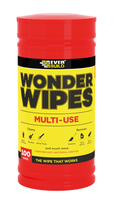 Everbuild Wonder Wipes Multi-Use Cleaning Wipes,  100 Wipes