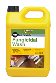 Everbuild 404 Fungicidal Wash 5Ltr, for removing moss and algea from walls, paths, roofs and drives